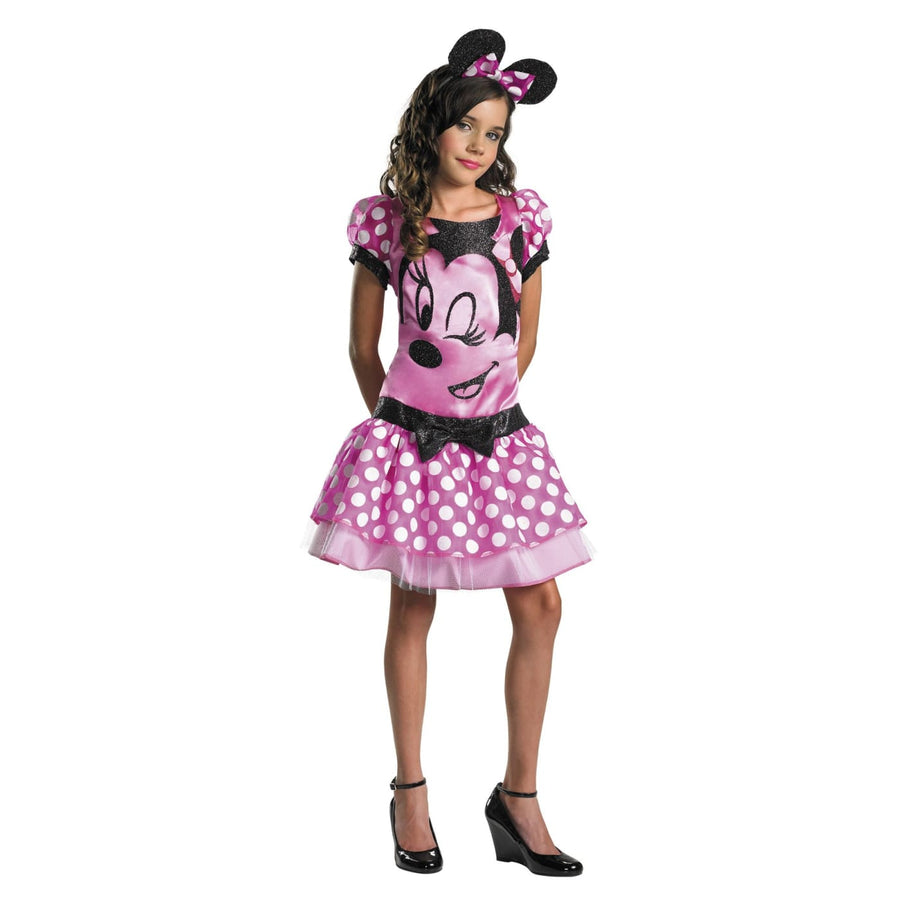 Minnie Mouse Pink 10-12 Plus - Animal & Insect Costume Disney Costume Girls