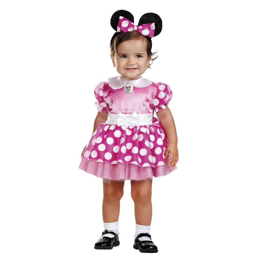 Minnie Mouse Pink Toddler Costume 12-18 Months - Animal & Insect Costume Disney