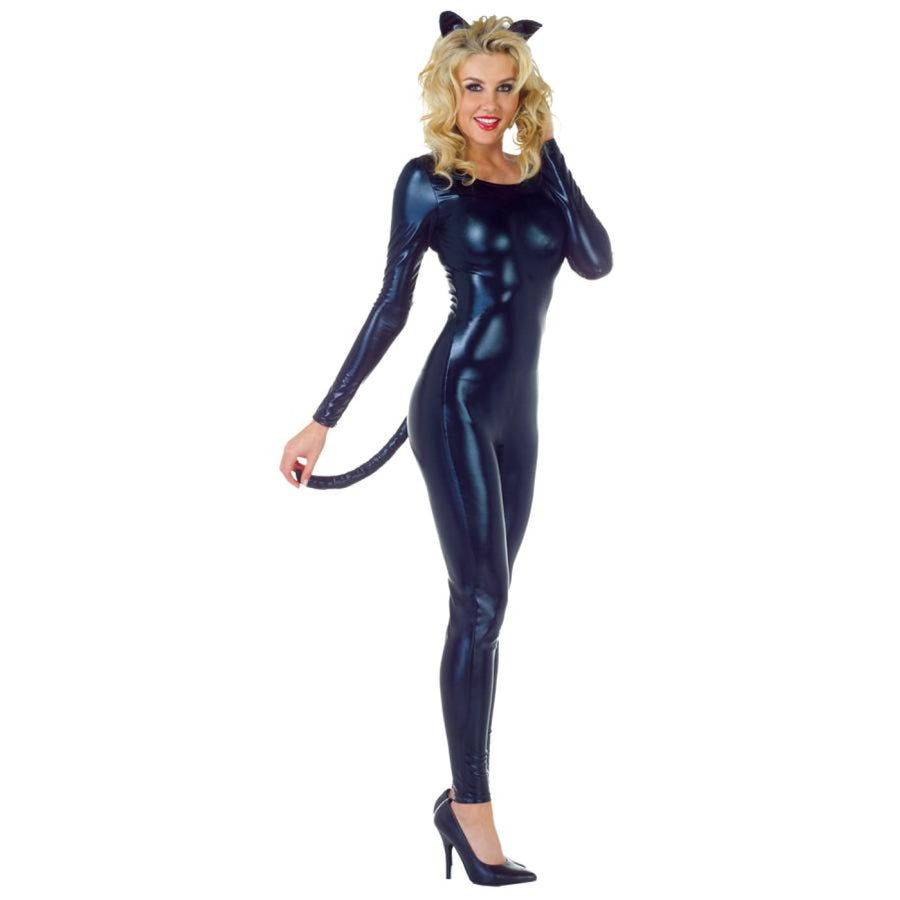 Minx Black Adult Costume Sm 4-6 - adult halloween costumes Animal & Insect