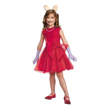 Miss Piggy Classic Kids Costume Small 4-6 - Girls Costumes girls Halloween