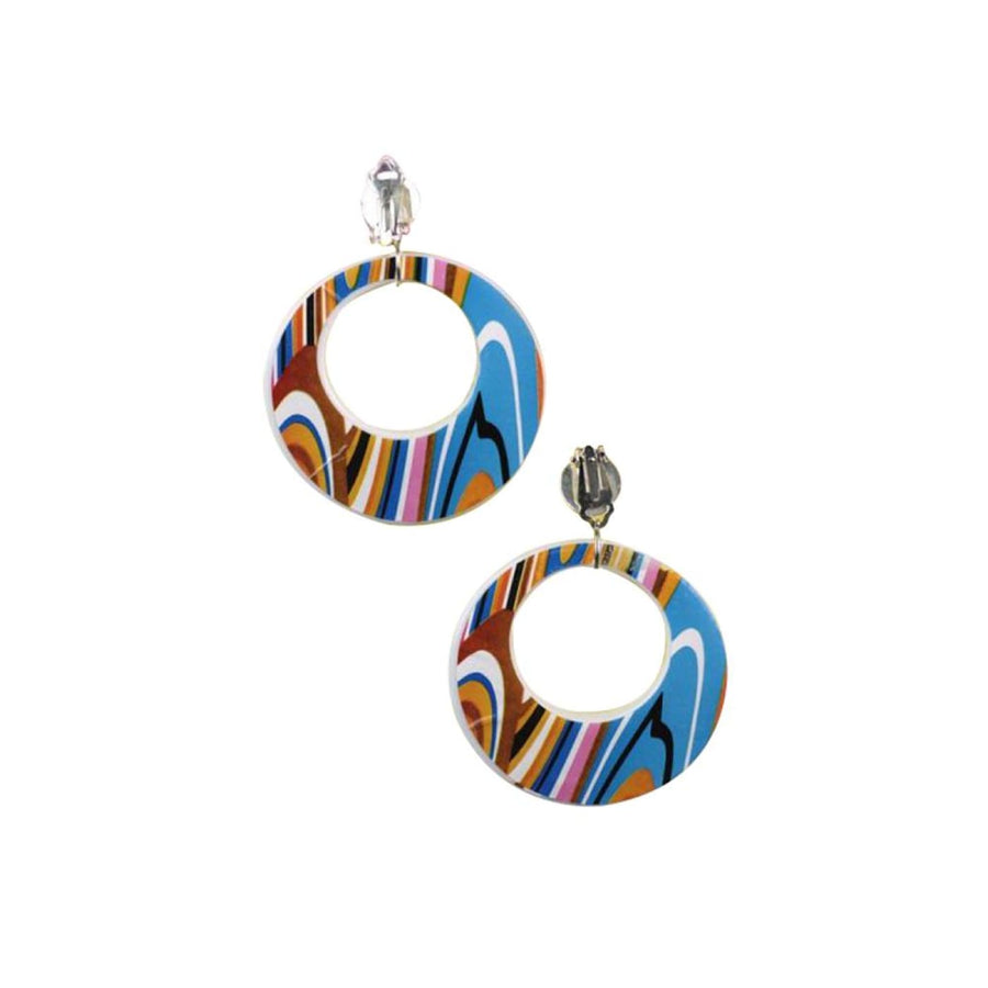 Mod Earrings - 60s - 70s Costume Fashion Jewelry Halloween costumes