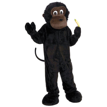 Monkey Mascot Adult Costume - adult halloween costumes Animal & Insect Costume