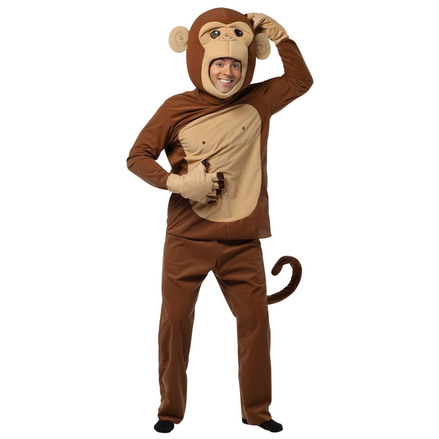 Monkeying Around Adult Costume - adult halloween costumes Animal & Insect