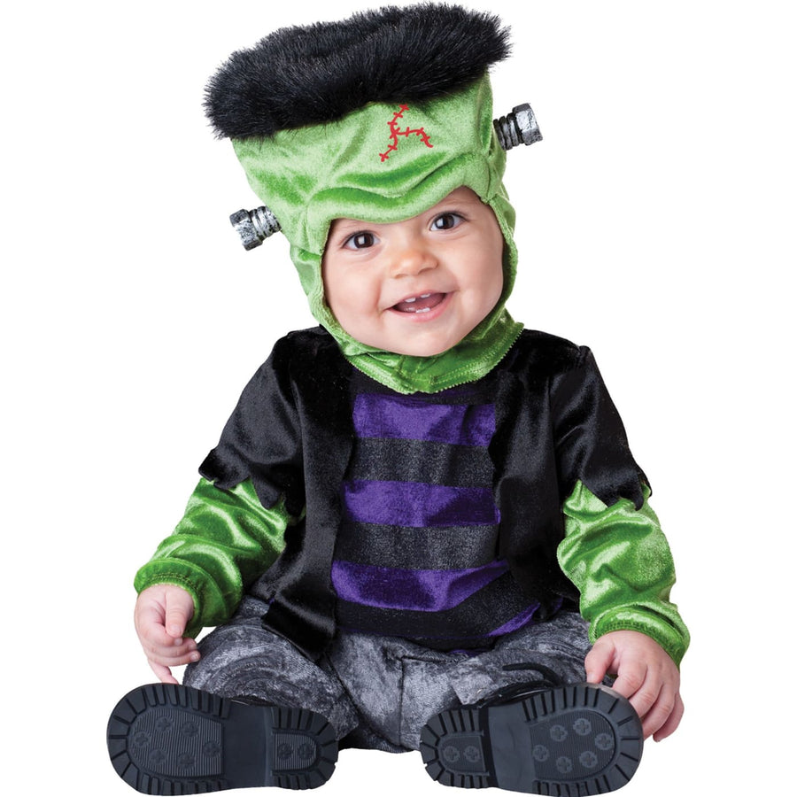 Monster Boo Toddler Costume Sm. 12-18 Months - Ghoul Skeleton & Zombie Costume