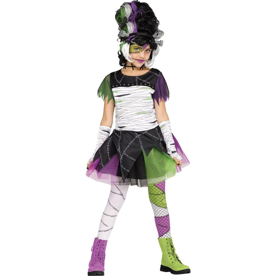 Monster Bride Girls Costume Medium - Girls Costumes New Costume