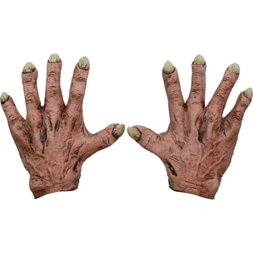 Monster Flesh Latex Hands - Ghoul Skeleton & Zombie Costume Halloween costumes