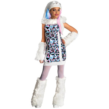 Monster High Abbey Bominable Child Costume Md - Girls Costumes girls Halloween
