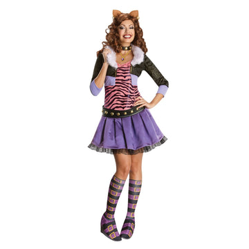 Monster High Clawdeen Wolf Adult Costume Sm - adult halloween costumes female