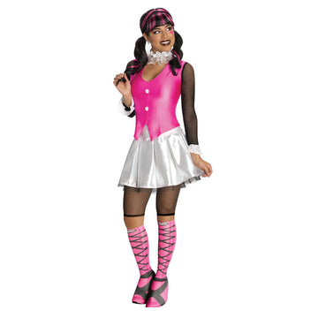 Monster High Draculaura Adult Costume Sm - female Halloween costumes Halloween