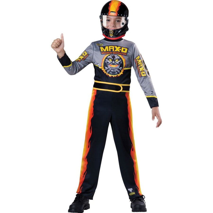 Monster Jam Max D Boys Costume Medium 8 - Boys Costumes boys Halloween costume