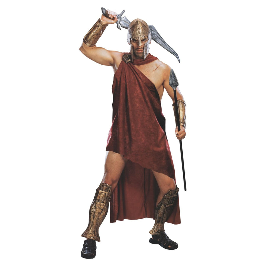 Movie 300 Spartan Deluxe Adult Costume Xlarge - 300 Costume adult halloween