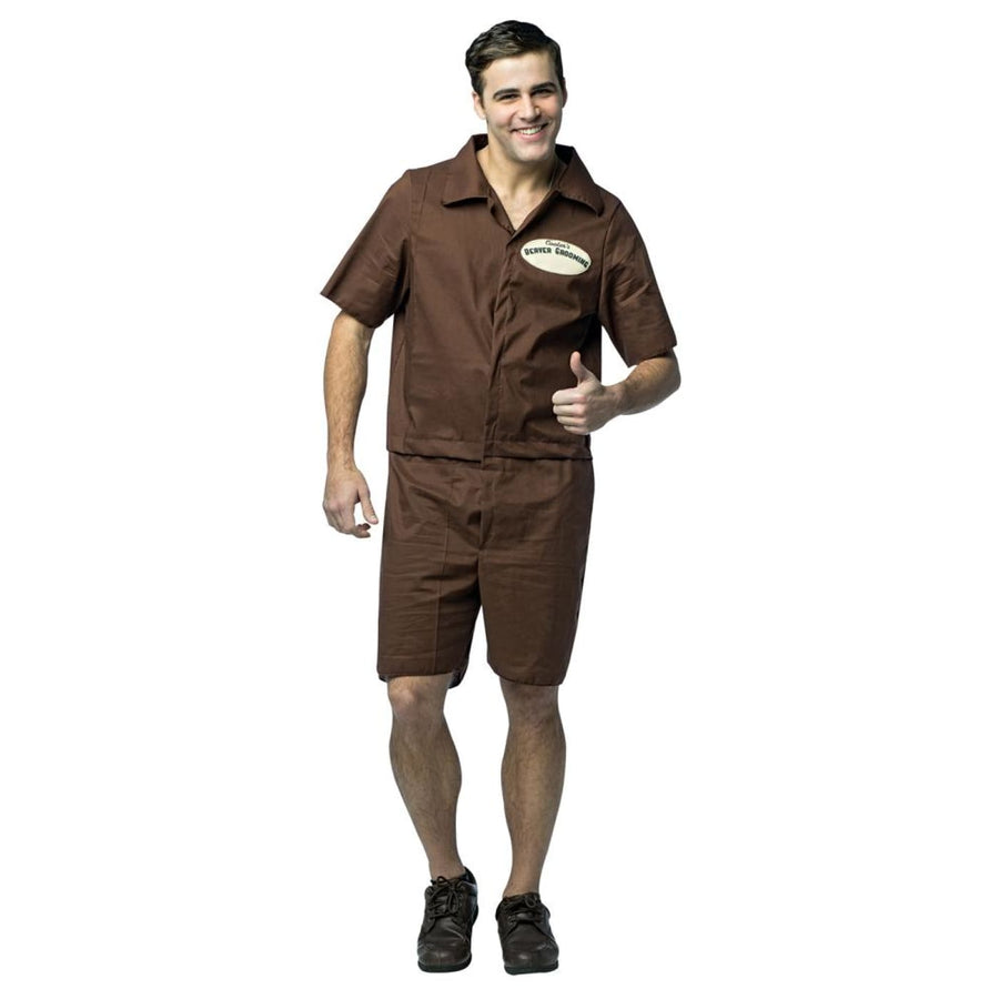 Mr Cooter-Beaver Grooming J Adult Costume - adult halloween costumes halloween