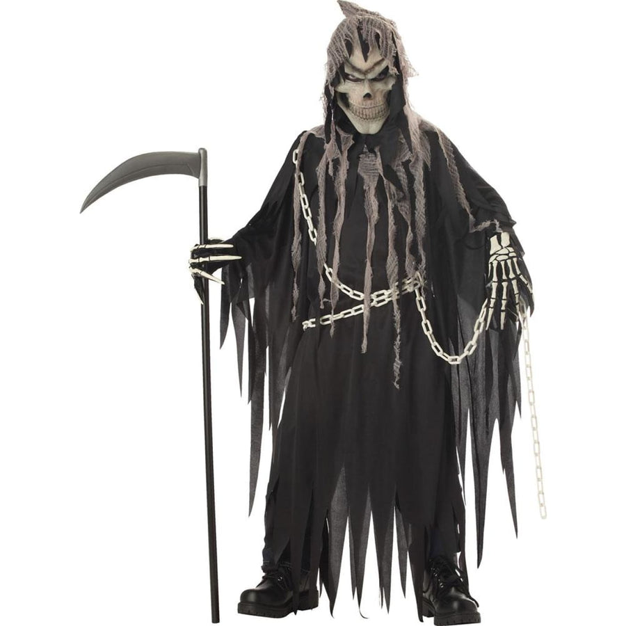 Mr Grim Boys Costume XLarge 12-14 - Boys Costumes boys Halloween costume Ghoul