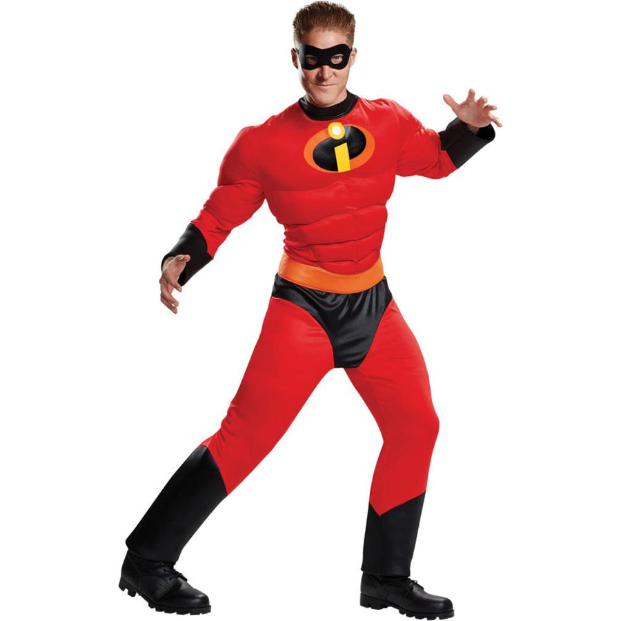 Mr Incredible Mens Costume Muscle 50-52 - adult halloween costumes halloween