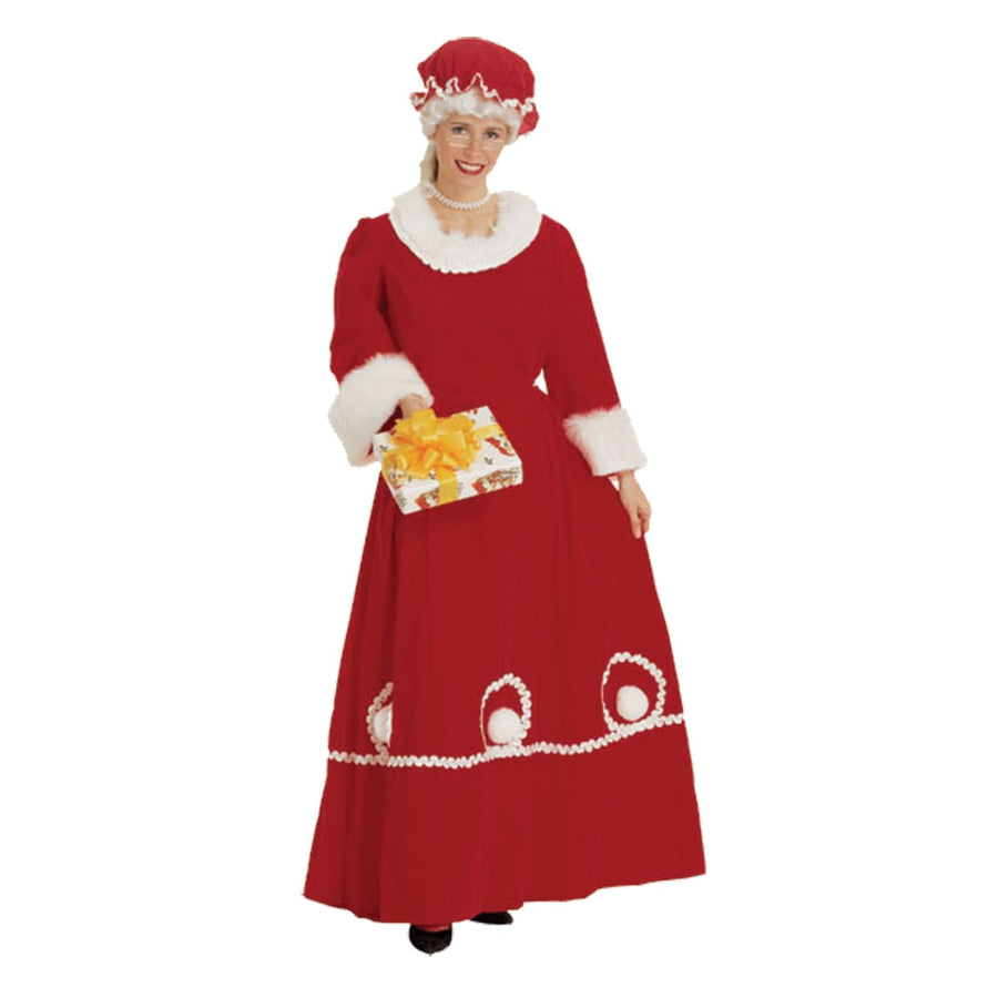 Mrs. Claus Adult Medium - adult halloween costumes female Halloween costumes