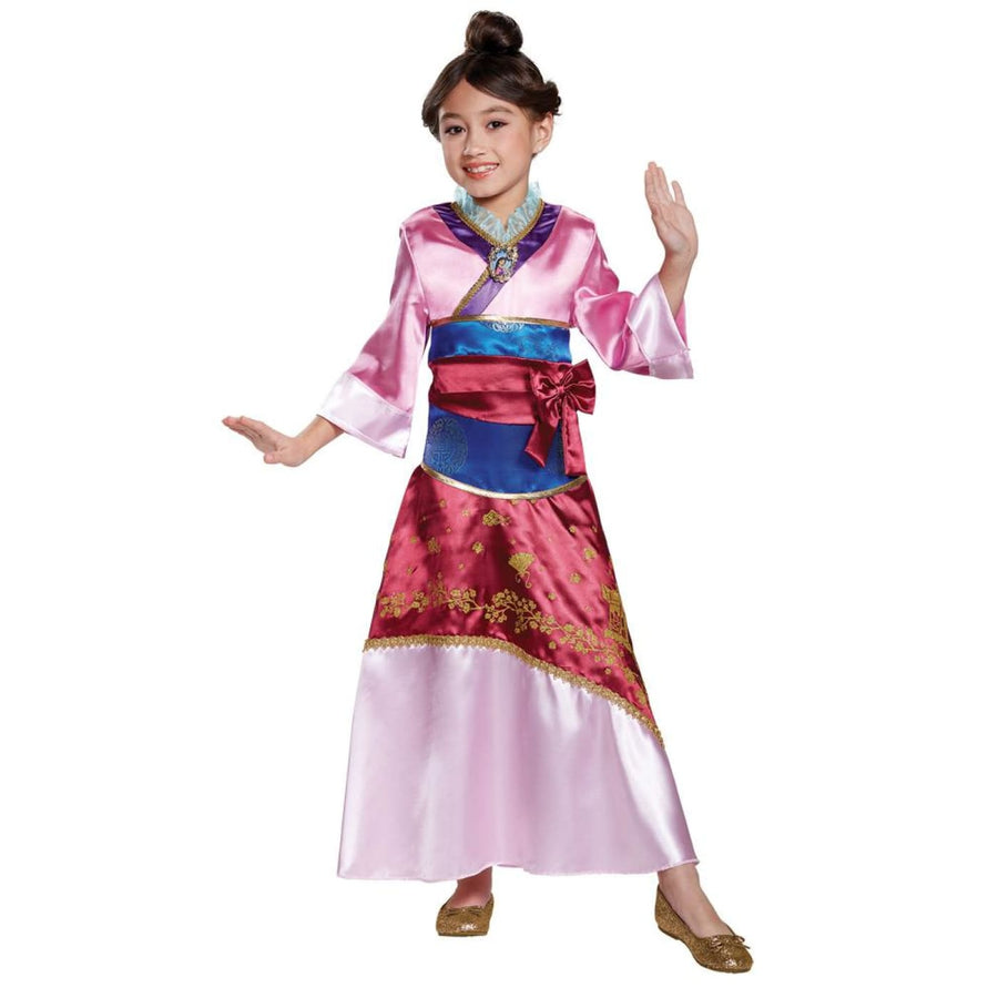 Mulan Deluxe Girls Costume 4-6 - Girls Costumes Halloween costumes New Costume