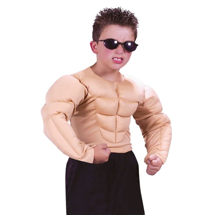 Muscle Shirt Child Md - Halloween costumes Hands Feet & Chest