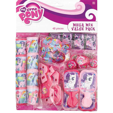 My Little Pony Friendship Party Favors Pack - Birthday Party Decorations
