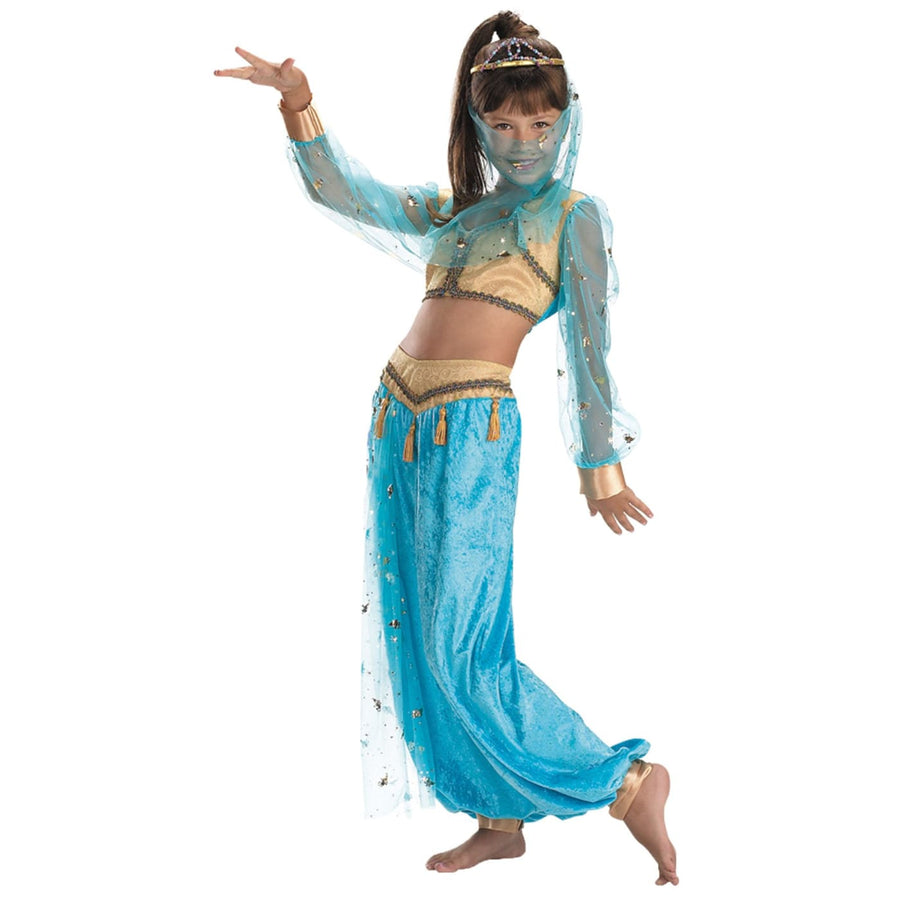 Mystical Genie Kids Costume 7-8 - Belly Dancer & Eastern Costume Girls Costumes