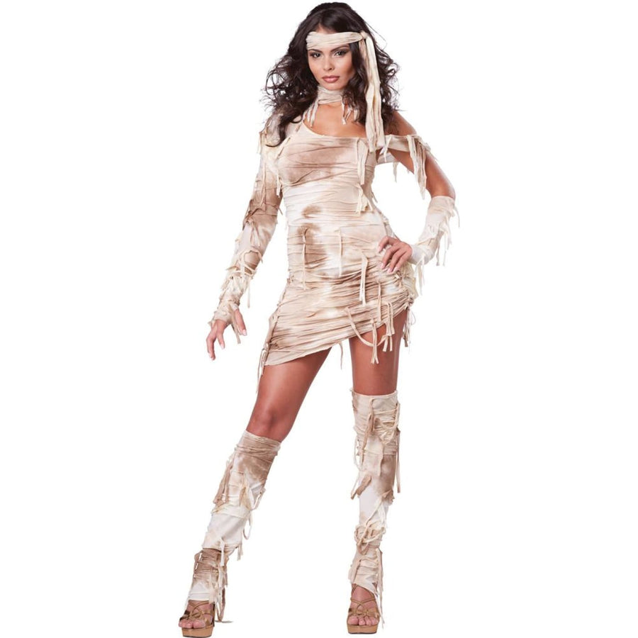 Mystical Mummy Adult Costume Large 10-12 - adult halloween costumes Egyptian