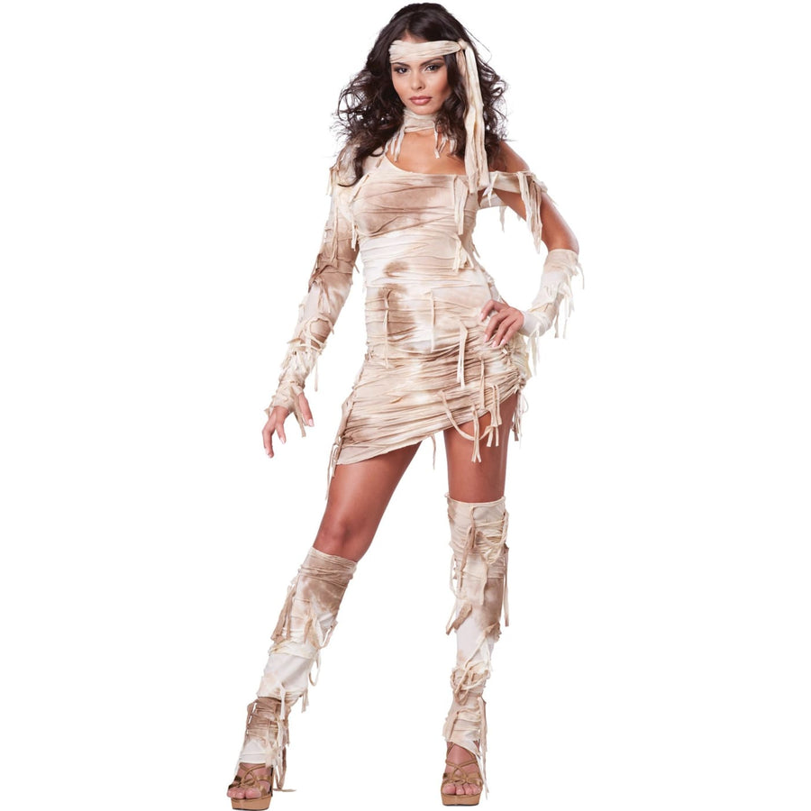 Mystical Mummy Adult Costume Medium - adult halloween costumes Egyptian Costume
