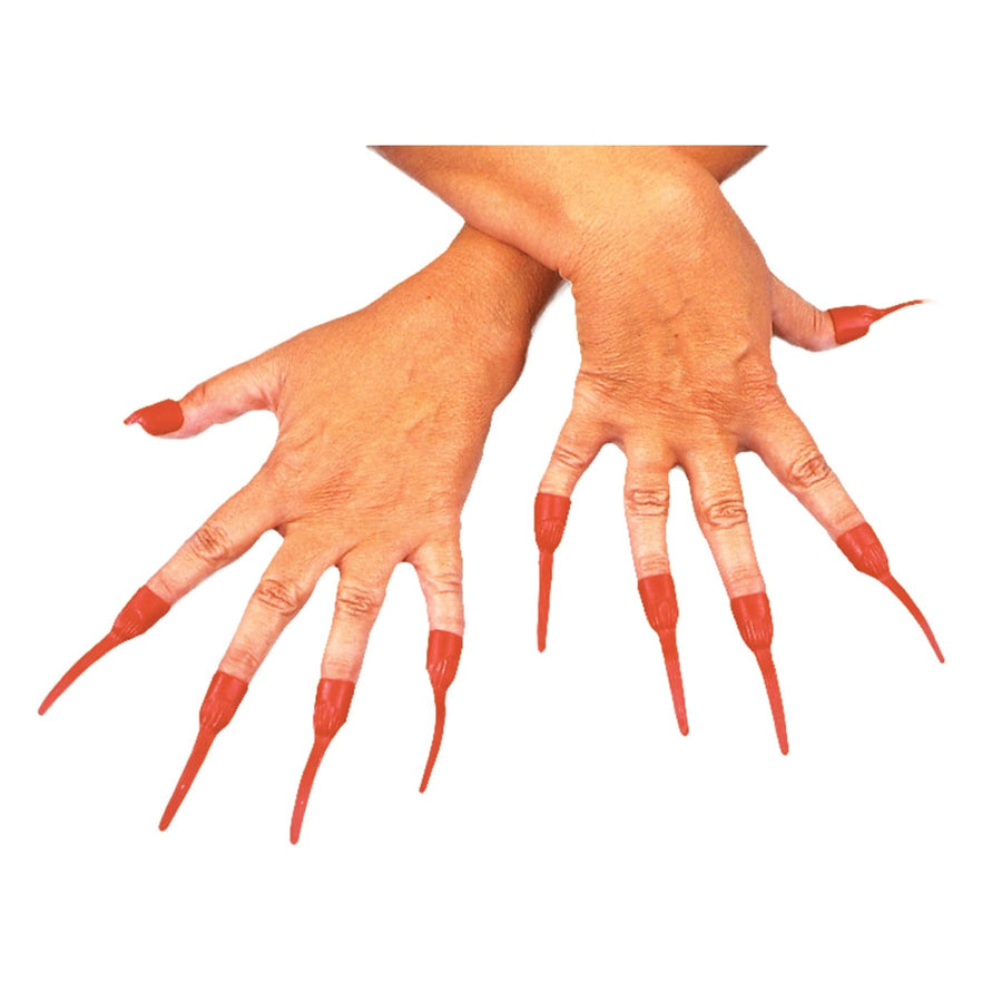 Nails Red Devil - Costume Makeup Demon & Devil Costume Halloween costumes