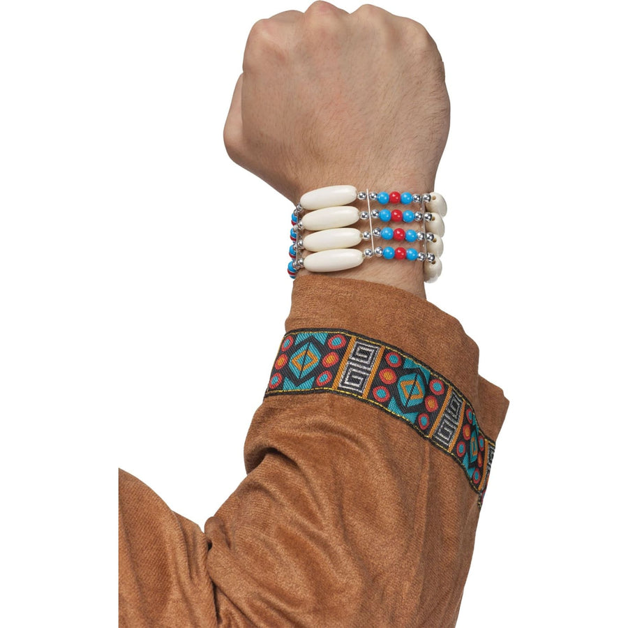 Native Warrior Bracelet - Fashion Jewelry Halloween costumes Wild West & Cowboy