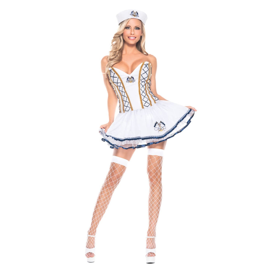 Naughty Sailor Adult Costume Xl - adult halloween costumes female Halloween
