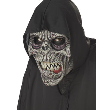 Night Fiend Mask Ani-Motion Mask - Costume Masks Ghoul Skeleton & Zombie Costume
