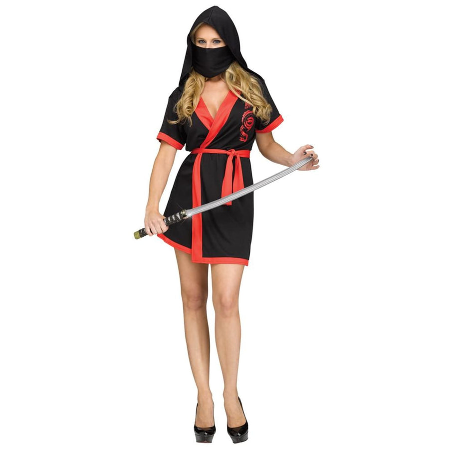 Ninja Robe Adult Costume Medium-Large - adult halloween costumes female