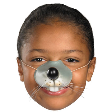 Nose Mouse With Elastic Mask - Costume Masks Halloween costumes Halloween Mask