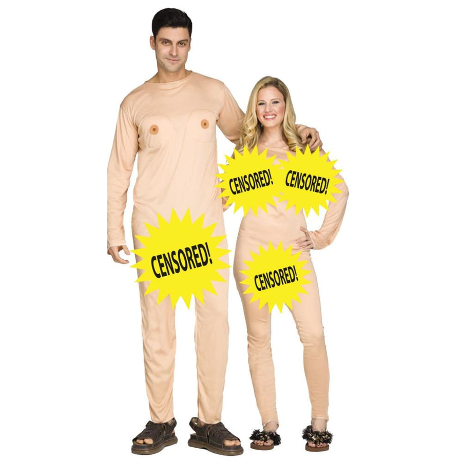 Nudist Couples Costume - Halloween costumes New Costume Nudist Couples Costume