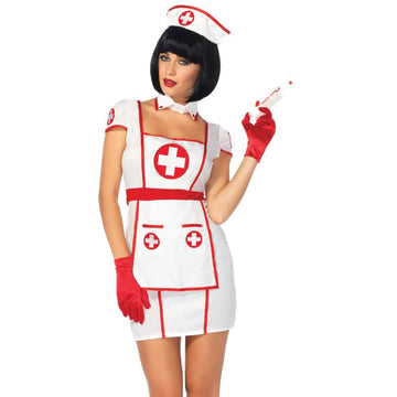 Nurse Hospital Heartbreaker Adult Costume Medium-Large - adult halloween