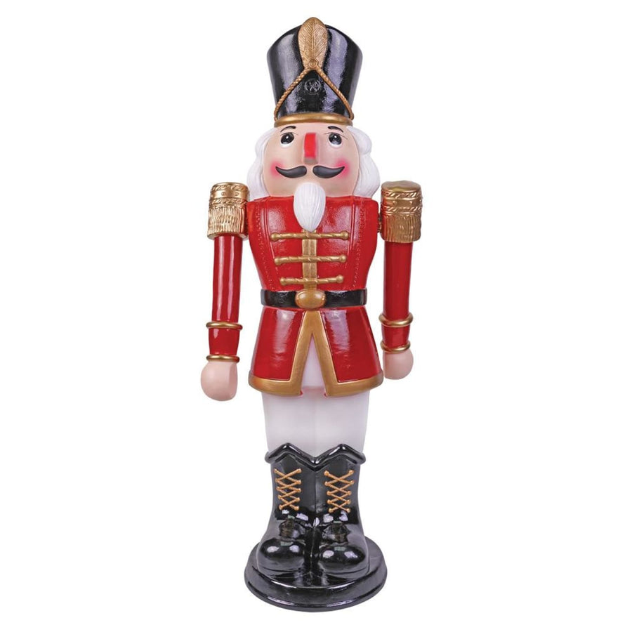 Nutcracker Animatd Red Wt 36In - Halloween costumes New Costume Nutcracker