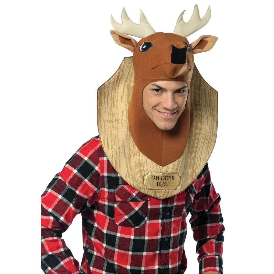 Oh Deer Trophy Adult - Halloween costumes