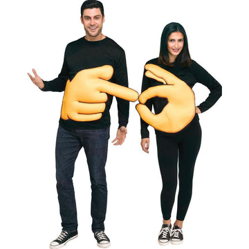 Ok Pointer Couples Costume - Halloween costumes New Costume