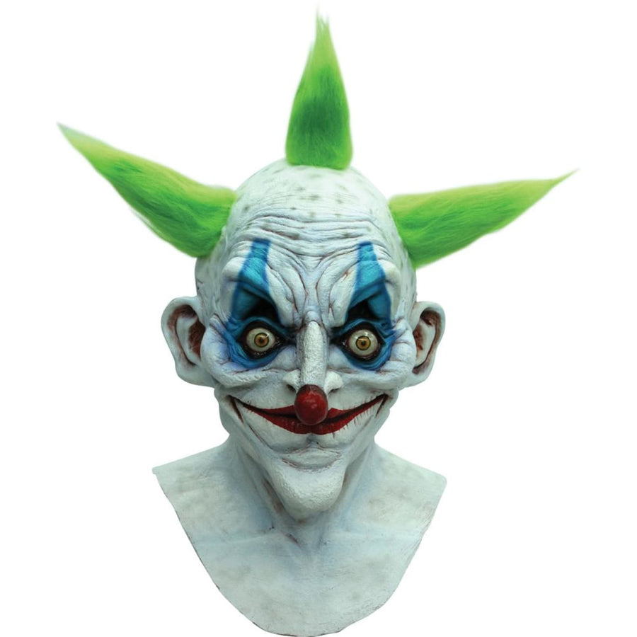 Old Clown Latex Costume Mask - Clown & Mime Costume clown costumes Halloween