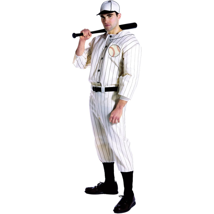 Old Tyme Baseball Player - adult halloween costumes Cheerleader & Sports Costume