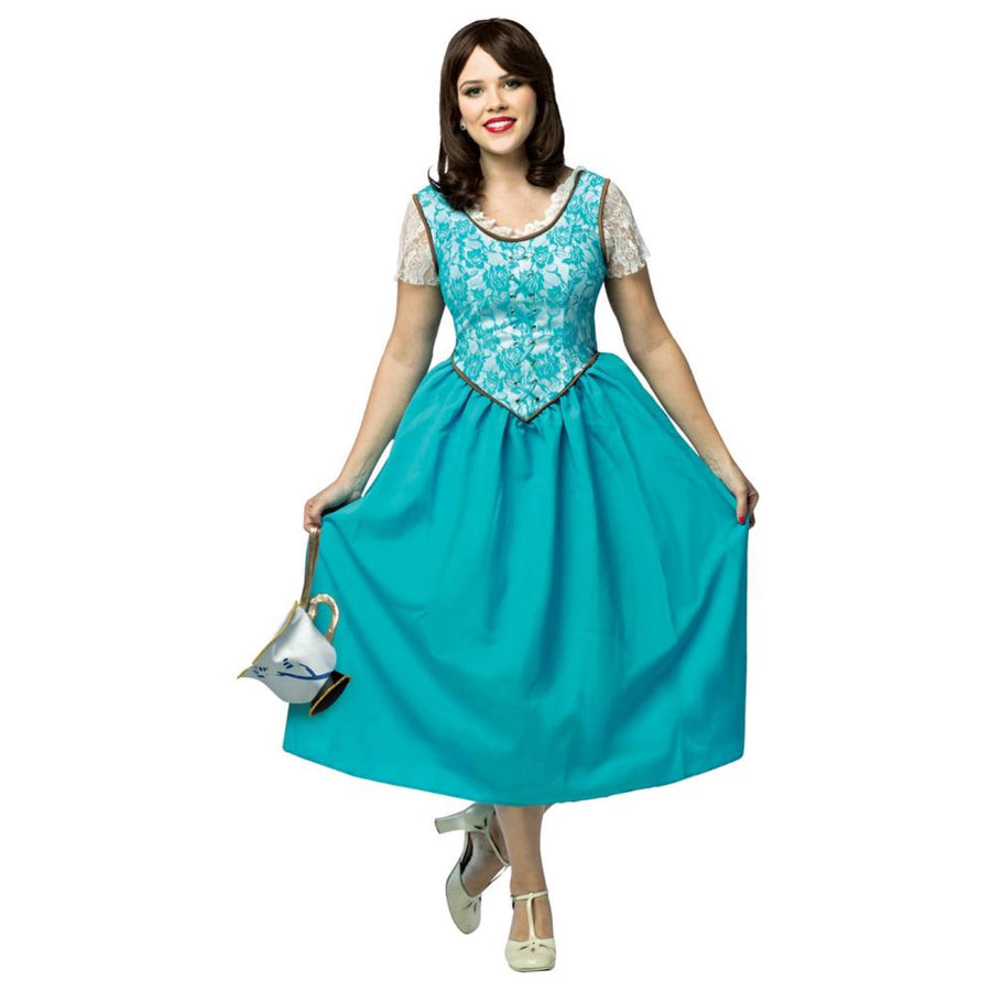 OnceUponATime Belle Adult Costume Large - adult halloween costumes Halloween