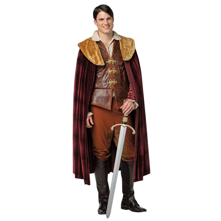 OnceUponATime Prince Charming Adult Costume Xxlarge - adult halloween costumes