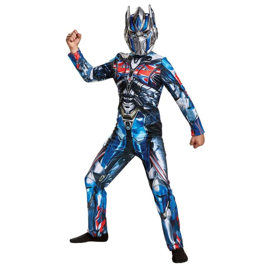 Optimus Prime Boys Costume 10-12 - Boys Costumes Halloween costumes New Costume