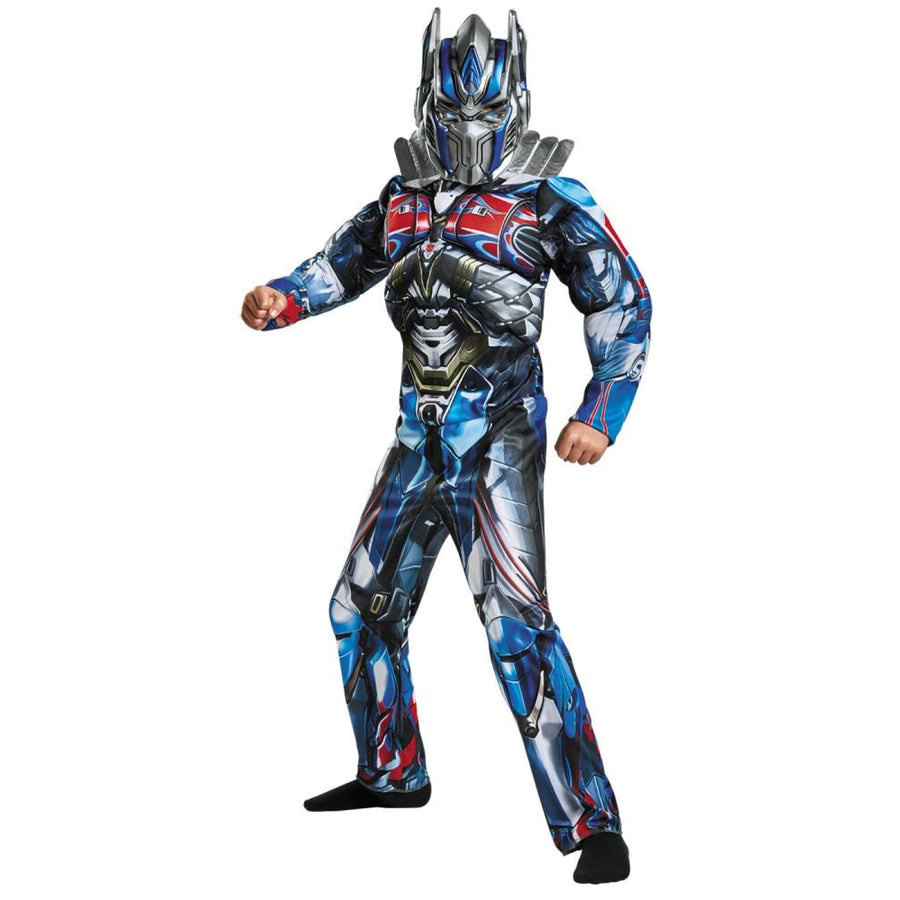 Optimus Prime Boys Costume Muscle 7-8 - Boys Costumes Halloween costumes New