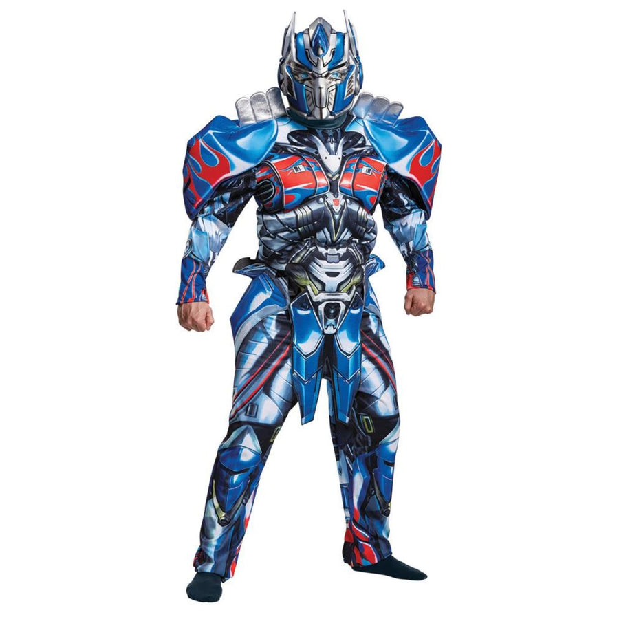 Optimus Prime Deluxe Mens Costume 42-46 - Halloween costumes Mens Costumes New