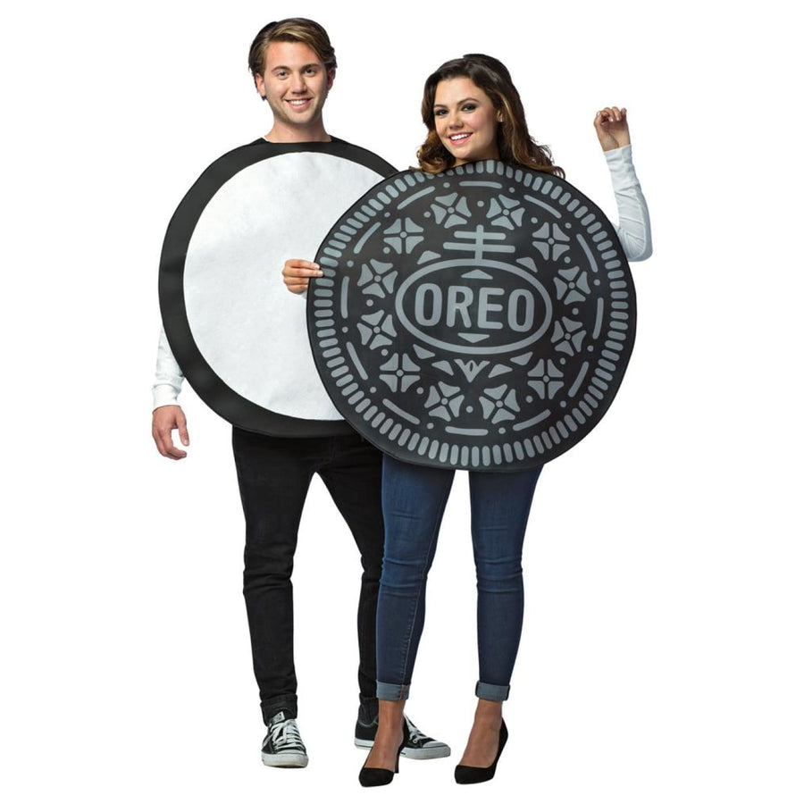 Oreo Couples2 In One Adult Costume - adult halloween costumes Halloween Costumes