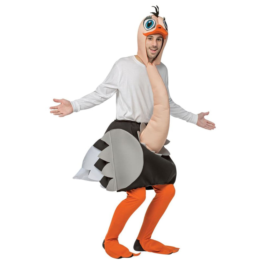 Ostrich Adult Costume - adult halloween costumes halloween costumes Mens
