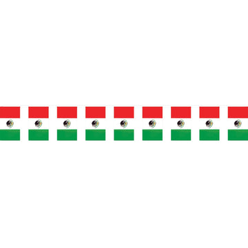 Outdoor Mexican Flag Banner - Decorations & Props Halloween costumes haunted