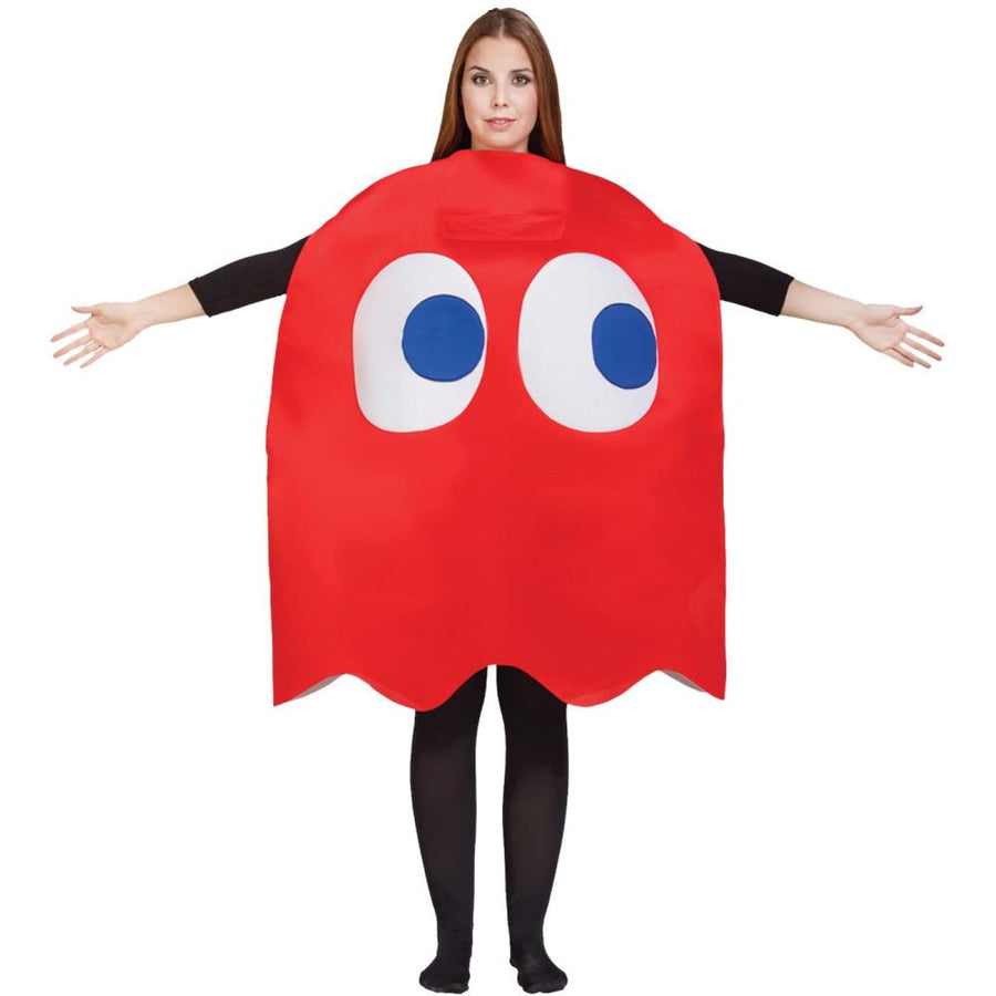 Pac Man Blinky Ghost Adult Costume - Mens Costumes New Costume Womens Costumes
