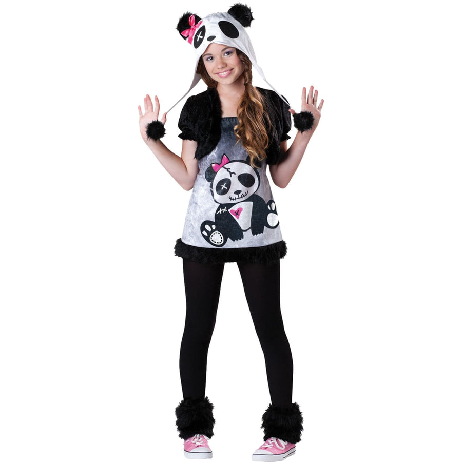 Pandamonium Sm Tween Costume 8-10 - adult halloween costumes Animal & Insect