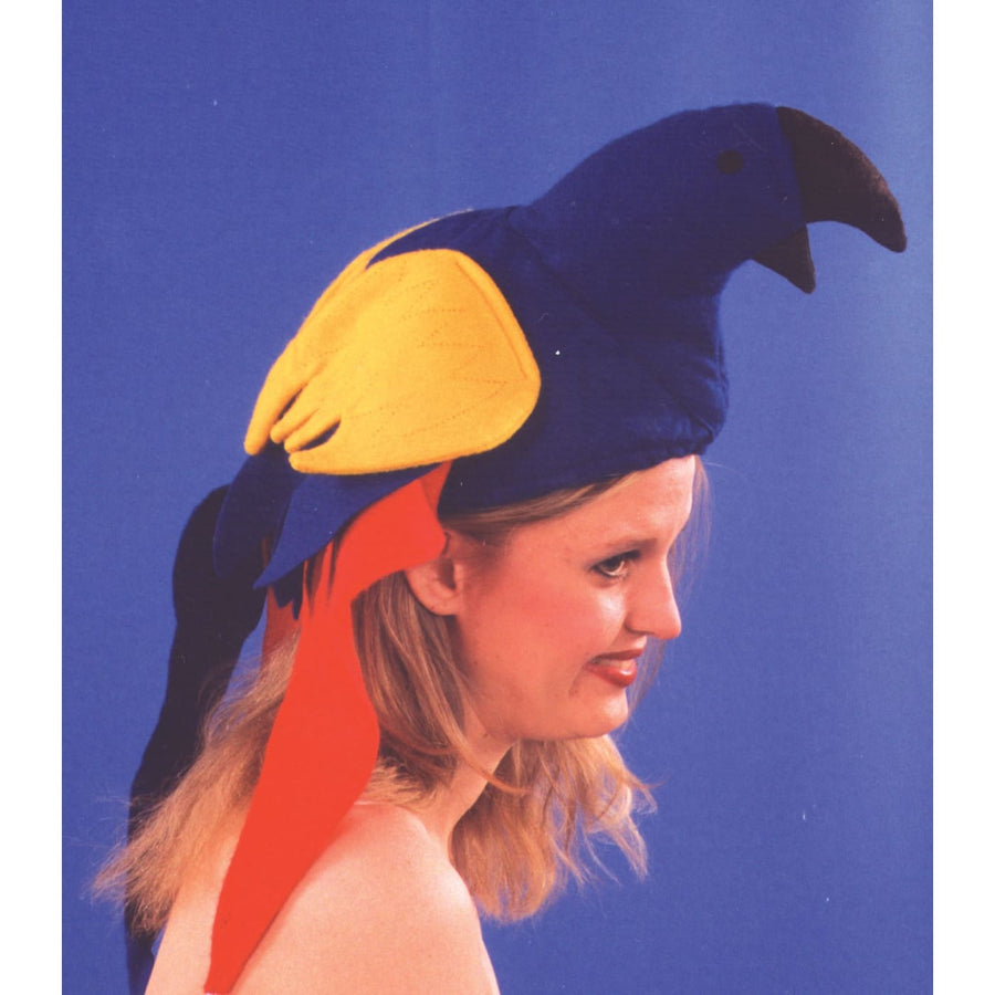 Parrot Felt Hat - Halloween costumes Hats Tiaras & Headgear