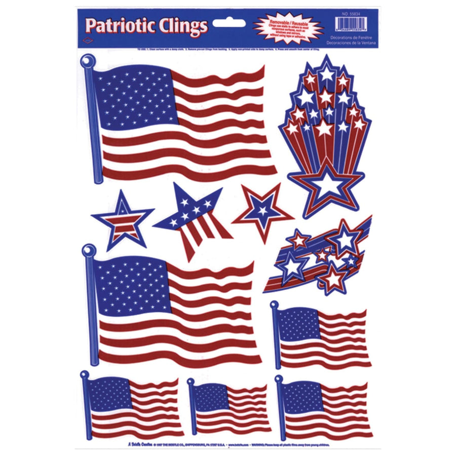 Patriotic Clings - Decorations & Props Halloween costumes haunted house